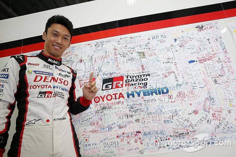 Nakajima, rescapé du Mans en quête de revanche