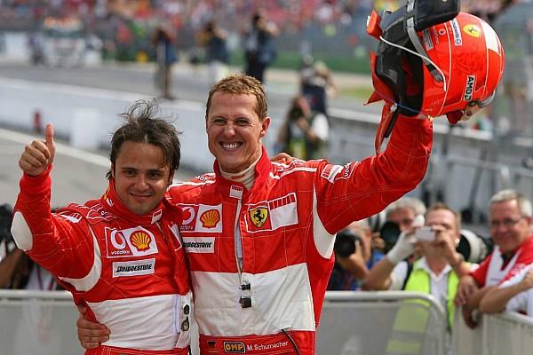 Massa: Ajudo Stroll da maneira que Schumacher me ajudava