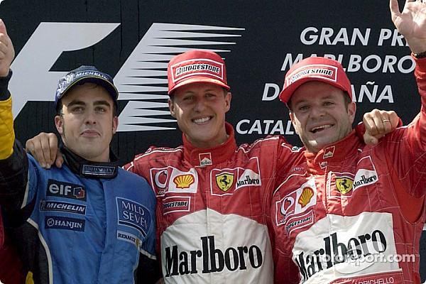 Galería: ganadores y podios del GP de España desde el año 2000
