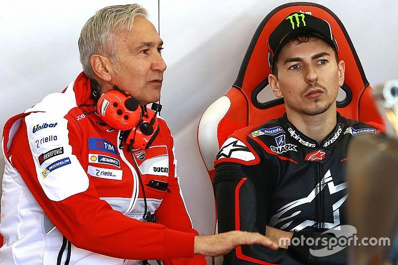 Ducati повинен дати Лоренсо мотоцикл його рівня