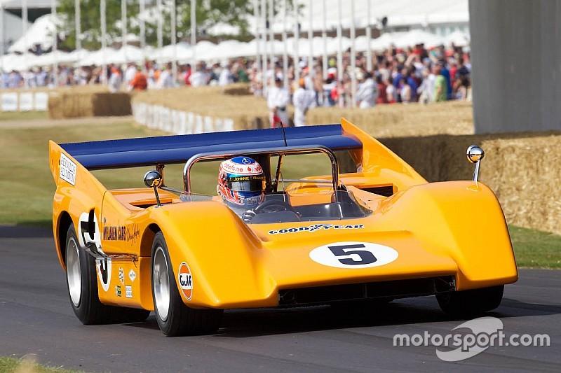 В McLaren почтили память основателя команды «Минутой шума»