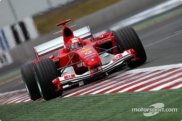 Vor 13 Jahren: Michael Schumacher gewinnt F1-Rennen mit 4 Boxenstopps