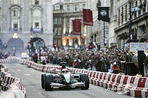 Formula 1 Breaking news F1 to hold London street demo on Wednesday