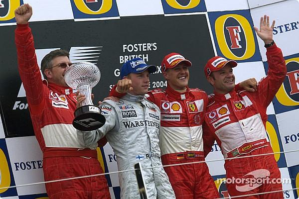 GALERÍA: los ganadores del GP de Gran Bretaña en Silverstone desde el año 2000