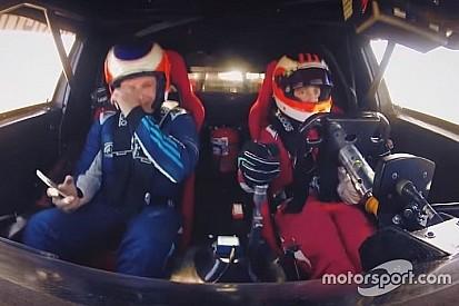 Vidéo - Rubens Barrichello ému aux côtés de son fils Dudu