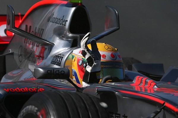 Formula 1 Top List Gallery: Recalling Hamilton's first podium finish