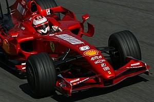 Título, demissão e recorde: a história de Kimi na Ferrari