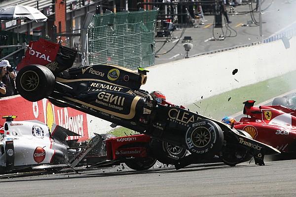 El brutal accidente de Alonso en Spa que acabó con el sueño del tricampeonato