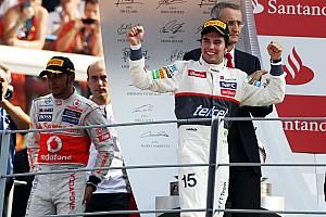 F1 Top List Cuando Pérez superó a los Ferrari para ser segundo en Monza