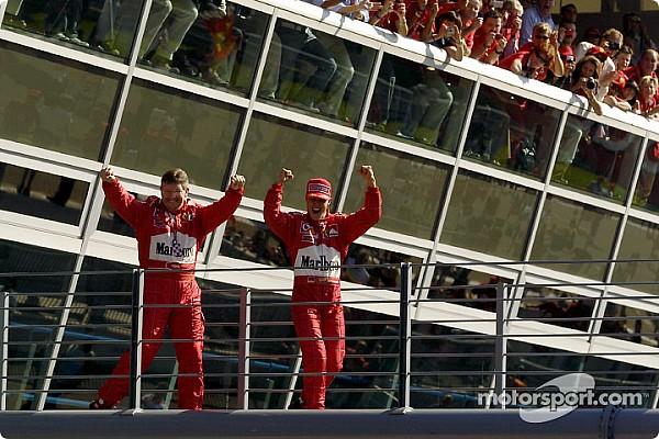 Forma-1 Schumacher-mesterhármas Monzában