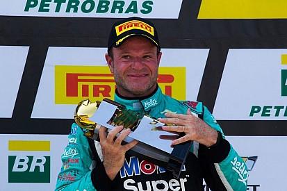 Rubens Barrichello brilló en Argentina