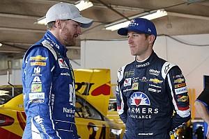 NASCAR Sprint Cup Crónica de entrenamientos Kahne y Earnhardt lideran la práctica final en Talladega