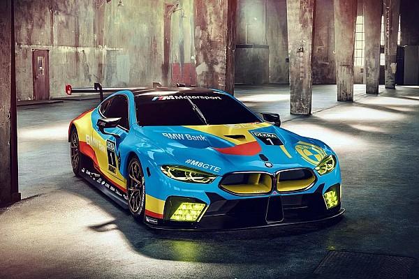 Ле-Ман Самое интересное Фэнтези-ливрея для новой BMW M8 GTE: фото