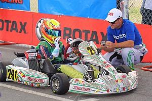 Barrichello gana las 500 Millas de Kart al lado de su hijo