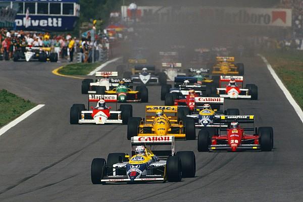 Mansell pede 26 carros no grid e que Ferrari não saia