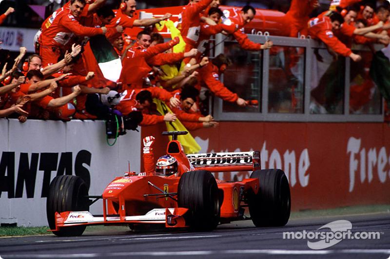 19º: Ferrari F1-2000 (2000)