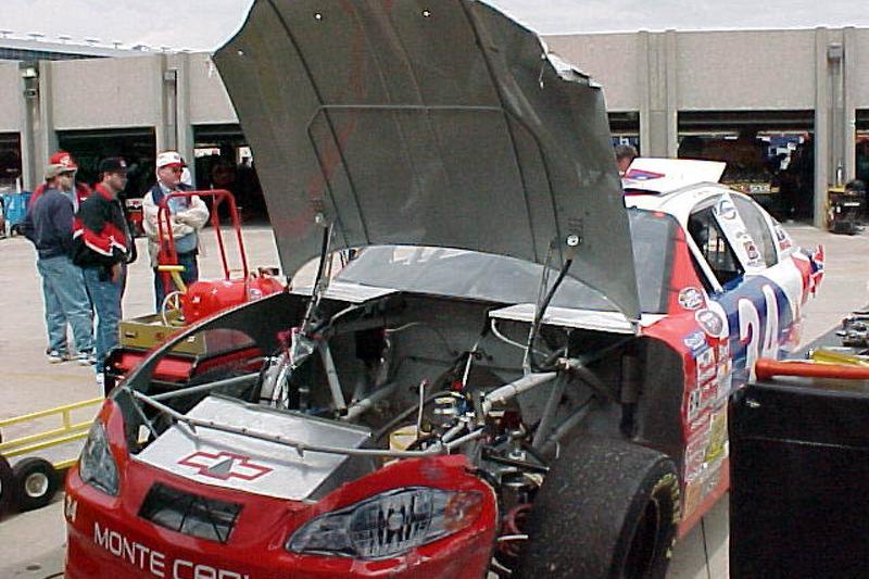 Front of David Green's car
