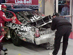 #87 Cellularone wreck from the rear