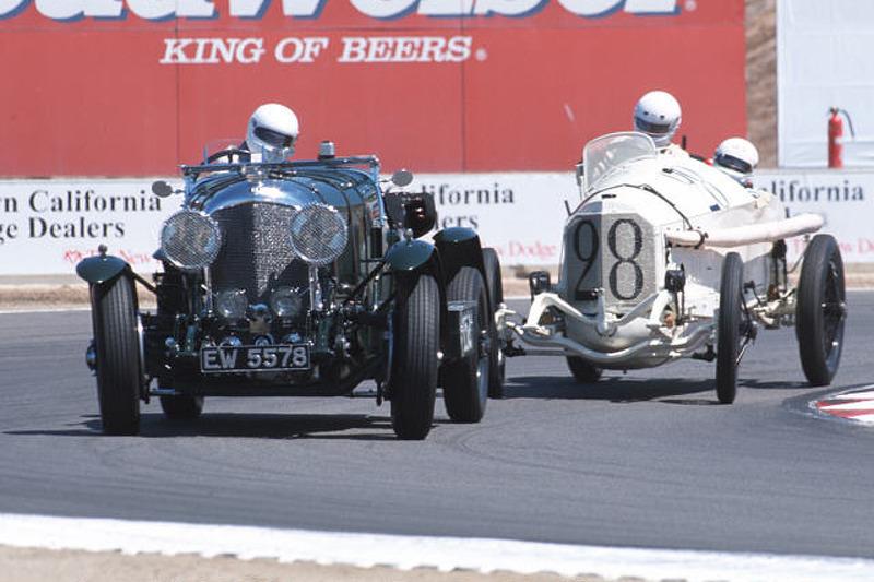 1927 Bentley & 1914 Mercedes