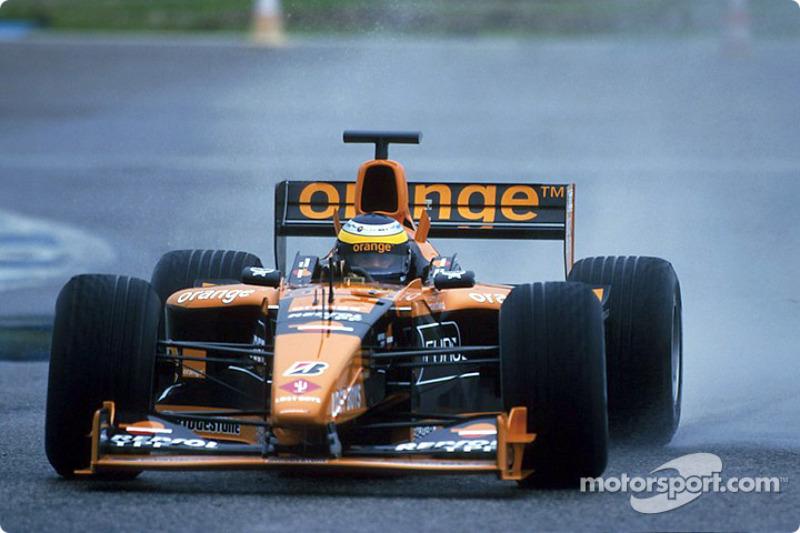 The Jerez circuit under the rain