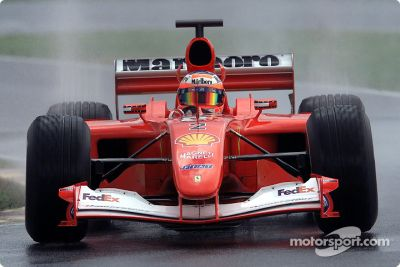 Sesión de prueba de Ferrari