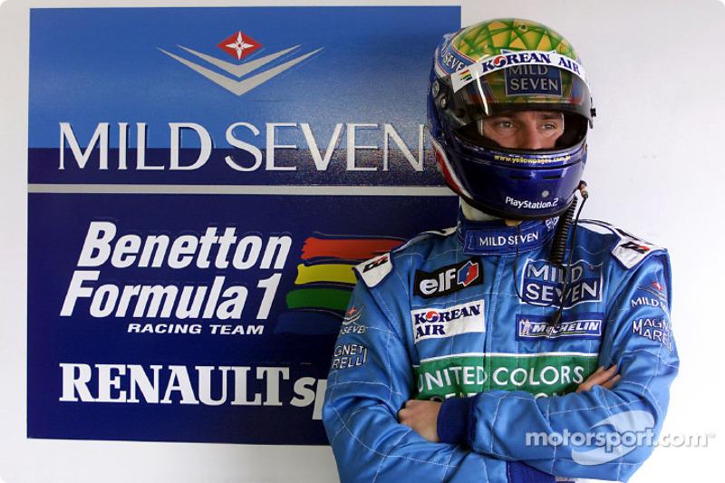 2001 - Tests con Benetton