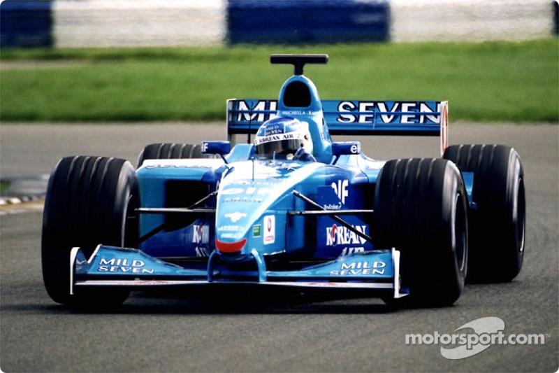 Giancarlo Fisichella à Silverstone