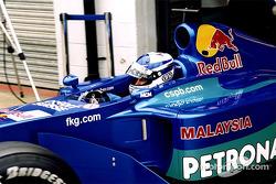 Kimi Raikkonen en pits