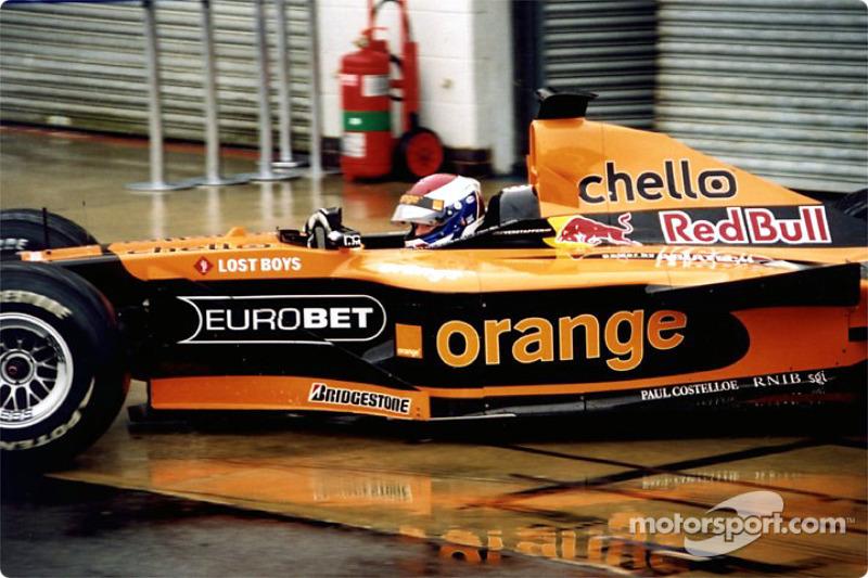 Jos Verstappen in the pits