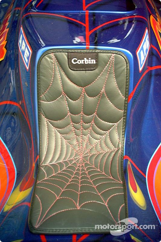 Spiderman's seat