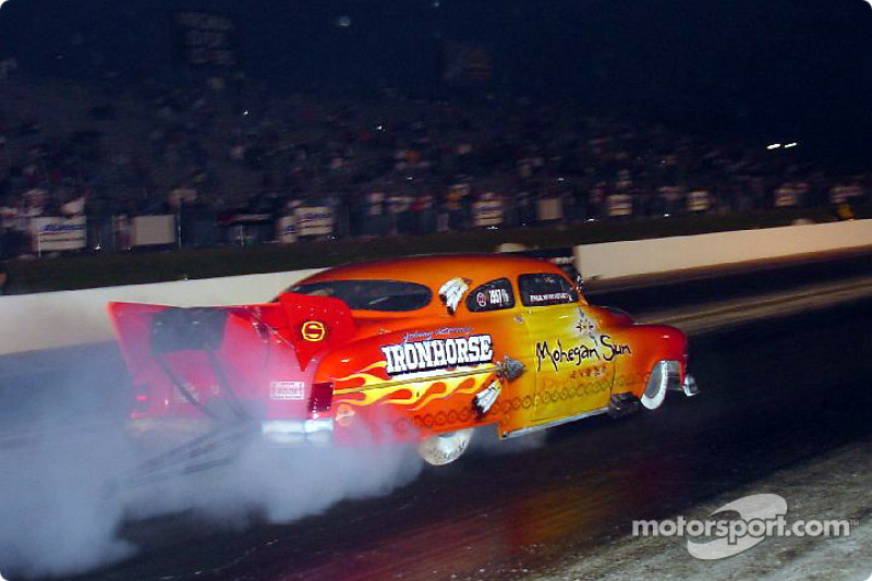 Paul Athey, driver of Johnny Rocca's Ironhorse