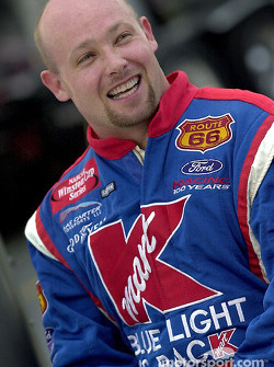 A happy Todd Bodine