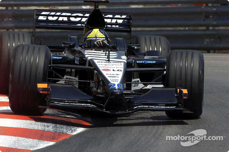 2001 - Minardi: Tarso Marquez