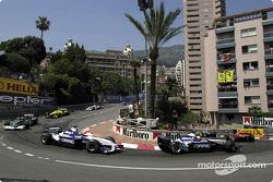 The first lap, at Loews corner