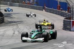Eddie Irvine and Jarno Trulli
