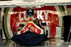 The BAR garage