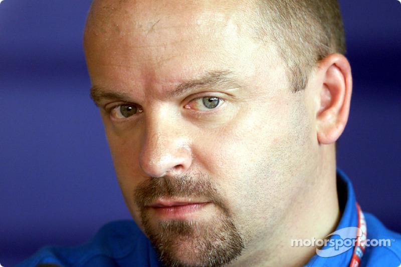 Benetton technical director Mike Gascoyne