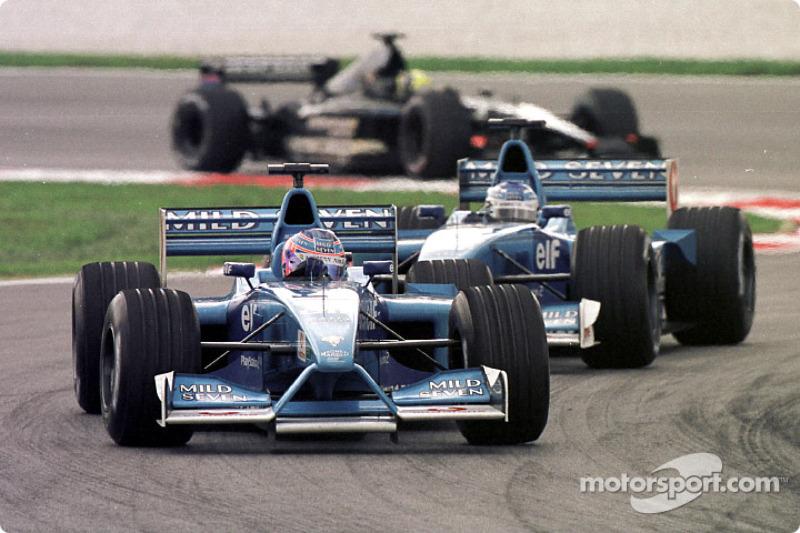 Button et Fisichella au GP de Malaisie