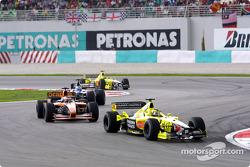 Heinz-Harald Frentzen, Jordan; Jos Verstappen, Arrows