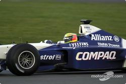Ralf Schumacher al volante del FW23