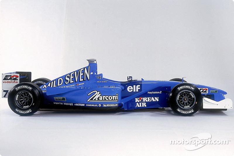 Photo studio de la Benetton B201