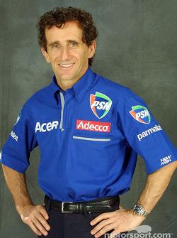 The man himself: Alain Prost