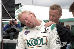 Massage for Paul Tracy