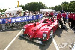 Esperaen la fila de la tecnología para Panoz Motor Sports