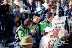 Les MG Boys : Kevin McGarrity, Mark Blundell, Julian Bailey
