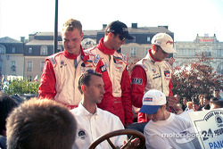 Panoz's Magnussen, Brabham, Lagorce