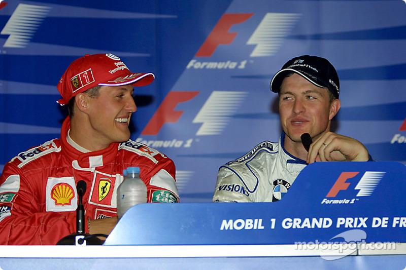 Press conference: Michael Schumacher and Ralf Schumacher