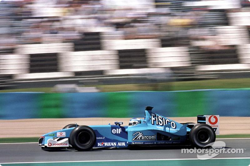 Giancarlo Fisichella au GP de France