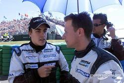 Fernando Alonso voor de race