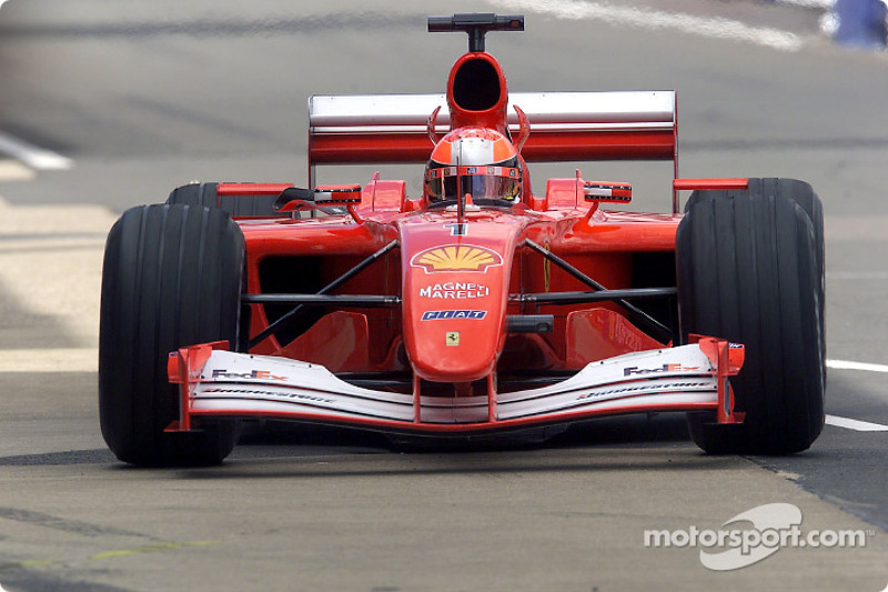 2001 Britanya GP, Ferrari F2001